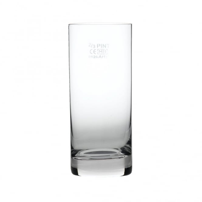 Luigi Bormioli Parisienne Crystal Hi-Ball Glass 380ml | 2/3pt CE Marked | Pack of 6