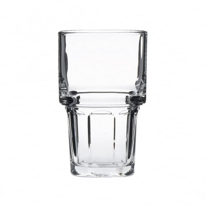 Libbey Gibraltar Stacking Beverage Tumbler Glass 350ml | CE Lined 1/2 Pint | Pack of 36