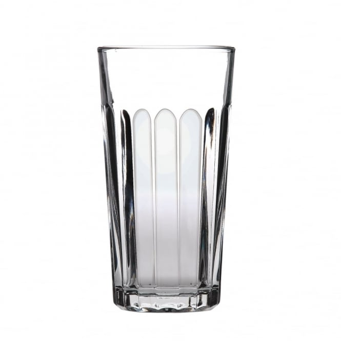 Libbey Paneled Beer Pint Glass 570ml | Pack of 24
