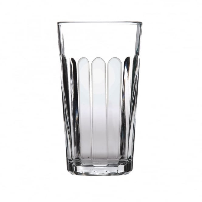 Libbey Paneled Beverage Tumbler Glass 350ml | Pack of 12