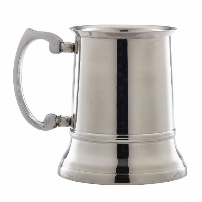 Genware Stainless Steel Beer Tankard 450ml 15.75oz
