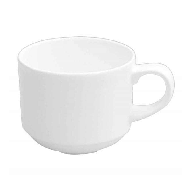 Churchill Alchemy White Stacking Espresso Cup 83ml 3oz | Pack of 24