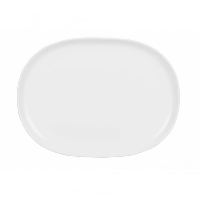 Churchill Alchemy Moonstone Oval Plate 16.7cm x 22.5cm | Pack of 12