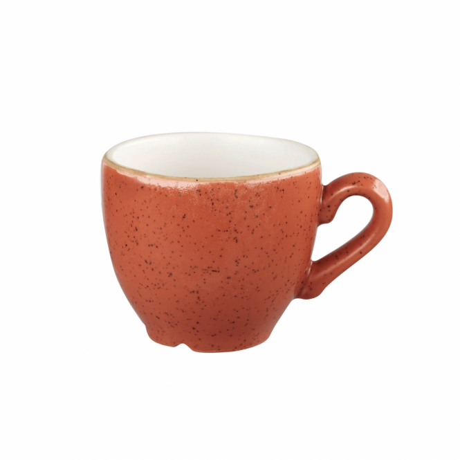 Churchill Stonecast Espresso Cup 100ml 3.5oz - Spiced Orange | Pack of 12