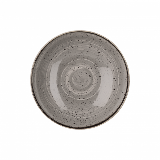 Churchill Stonecast Coupe Bowl 1.1 Litre 24.8cm - Peppercorn Grey | Pack of 12