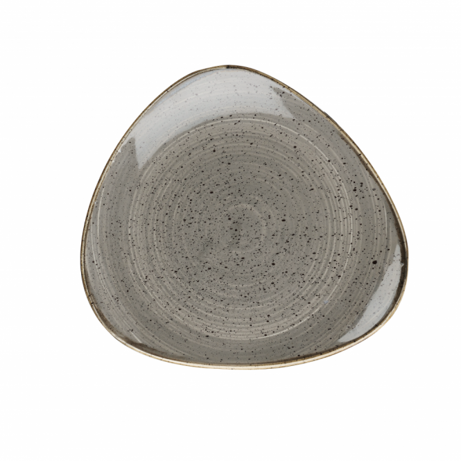 Churchill Stonecast Triangle Plate 22.9cm 9