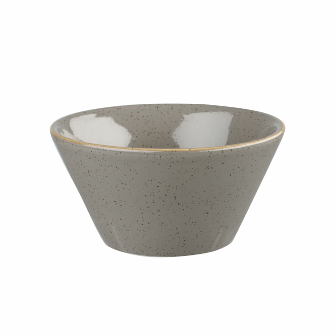 Churchill Stonecast Zest Bowl 340ml 12oz - Peppercorn Grey | Pack of 12