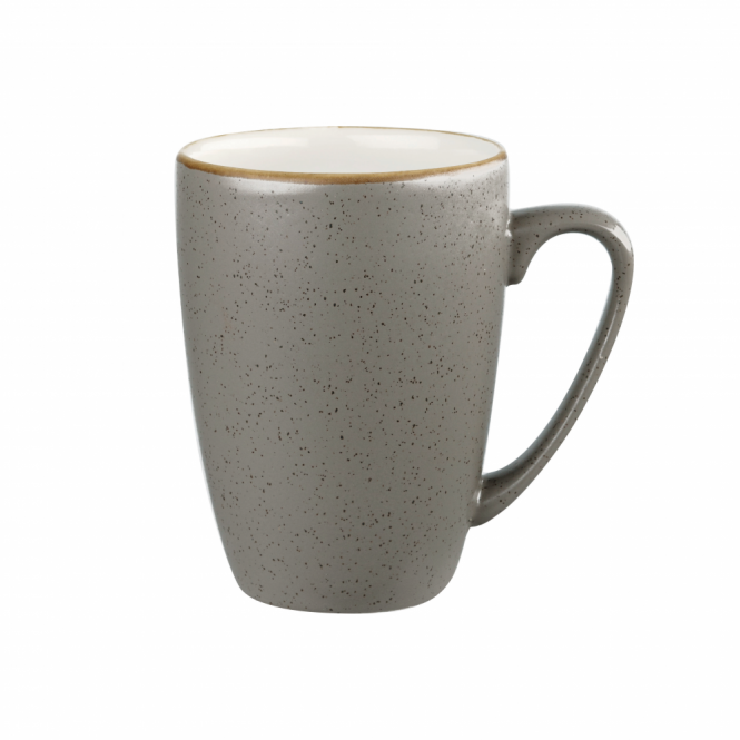 Churchill Stonecast Mug 340ml 12oz - Peppercorn Grey | Pack of 12
