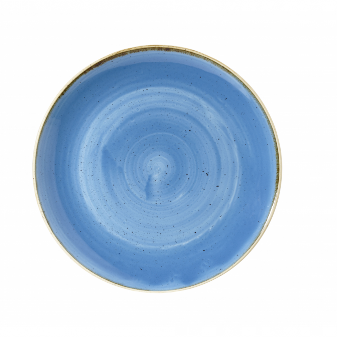 Churchill Stonecast Large Coupe Bowl 2.4 Litre 31cm - Cornflower Blue | Pack of 6
