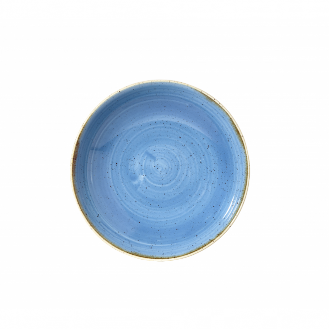 Churchill Stonecast Coupe Bowl 426ml 18.2cm - Cornflower Blue | Pack of 12