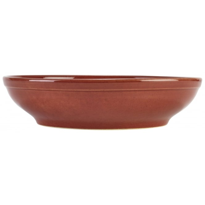Genware Red Rustic Terra Coupe Bowl | Pack of 6