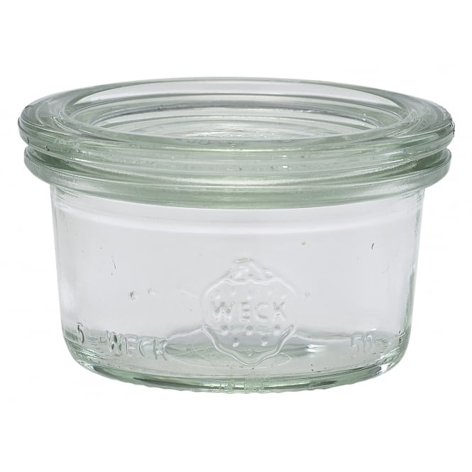 Genware WECK® Mini Jar & Lid - 5cl/1.75oz