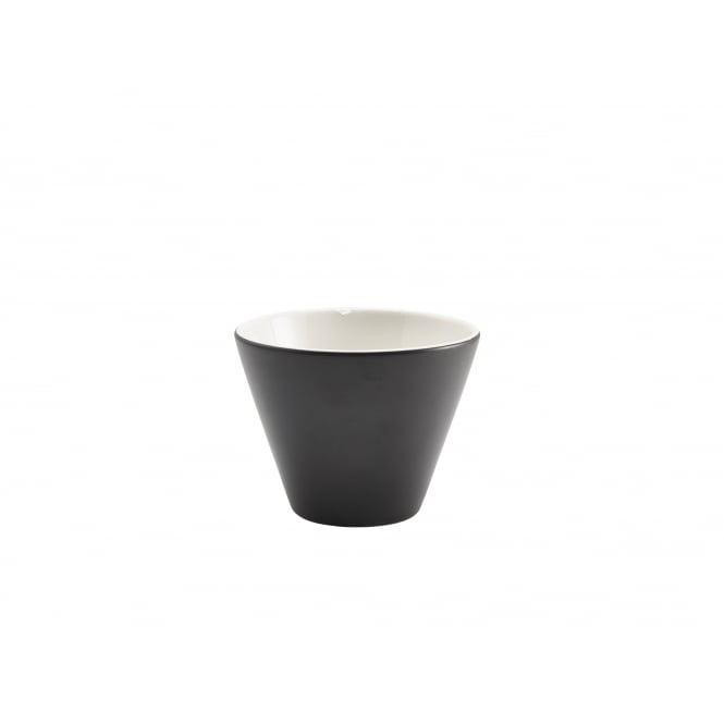 Genware Matt Conic Bowl 300ml - 10.5 x 7.9cm | Black