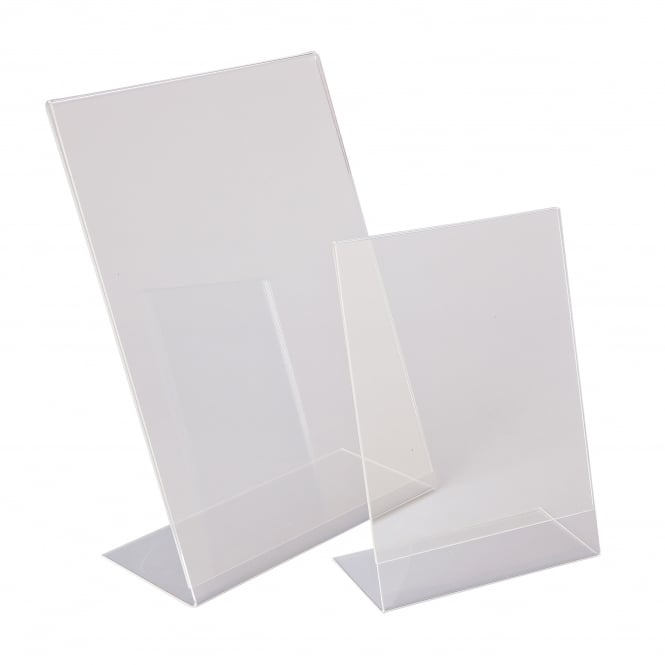 Beaumont Perspex A4 Menu Holder (Angled)