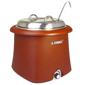 Sunnex Galena Soup Kettle 10L SS Lid