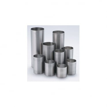 Stainless Steel Thimble Measures 25ml - 250ml