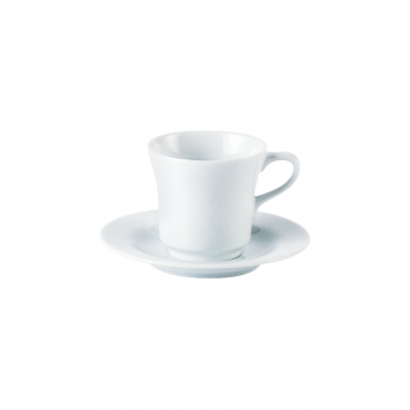 Tall Tea Cup and Saucer 200ml 7oz | Pack of 6