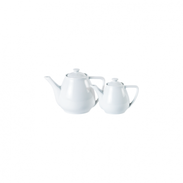 Contemporary Style Teapot 400ml 14oz | Pack of 6