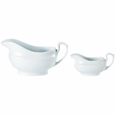 Mini Sauce Boat / Mini Gravy Boat 140ml | Pack of 6