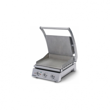 Roband Ribbed top 6 slice grill station