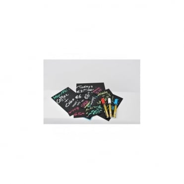 10 Price Tags A5 + 1 White Chalkmarker
