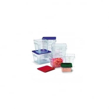 Plastic Square Containers 3.8 Litres