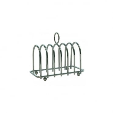 Chrome Horseshoe Toast Rack | Pack of 6