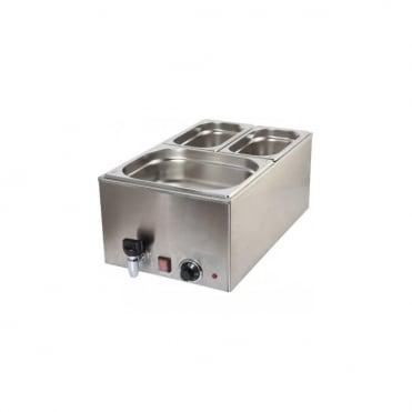 Bain Marie FULL SIZE with Tap 1.2kw