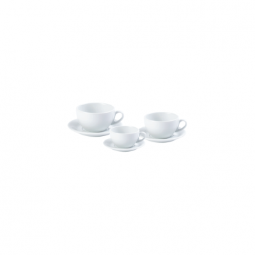 Roma Cups and Double Well Saucers 200ml 7oz | Pack of 6