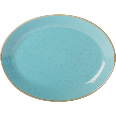 Seasons Sea Spray 30cm Oval Plate | Pack of 6
