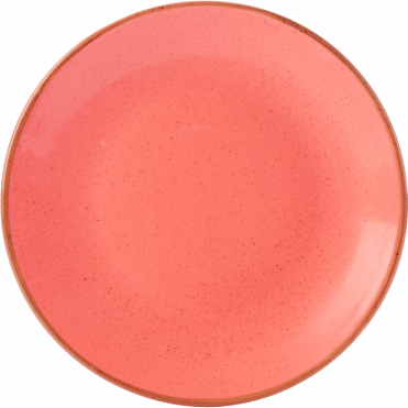 Seasons Coral 18cm Coupe Plate | Pack of 6