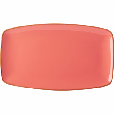 Seasons Coral 31cm Rectangular Plate | Pack of 6