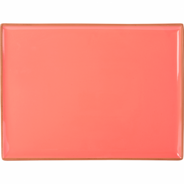 Seasons Coral 35cm Rectangular Platter | Pack of 6