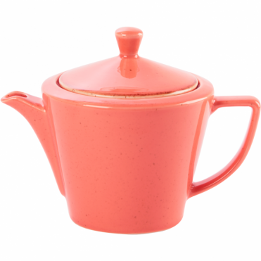 Seasons Coral 500ml Conic Teapot | Pack of 6