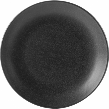 Seasons Graphite 28cm Coupe Plate | Pack of 6