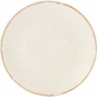 Seasons Oatmeal 28cm Coupe Plate | Pack of 6