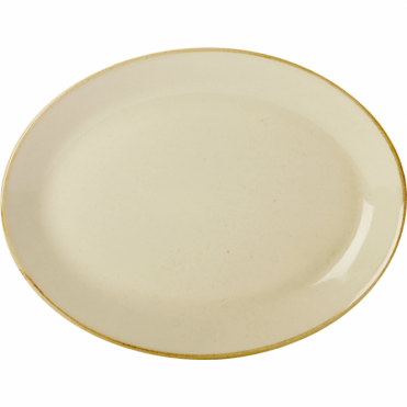 Seasons Wheat 30cm Oval Plate | Pack of 6