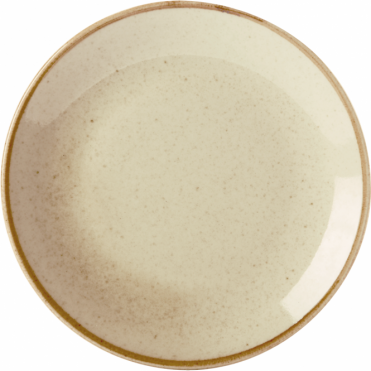 Seasons Wheat 28cm Coupe Plate | Pack of 6