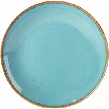 Seasons Sea Spray 18cm Coupe Plate | Pack of 6