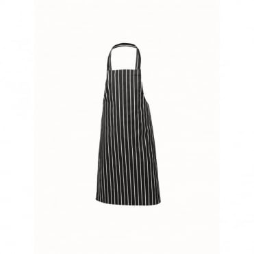 Black Pinstripe Butchers Apron