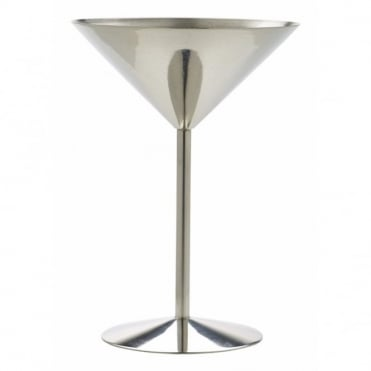Stainless Steel Martini Glass 240ml