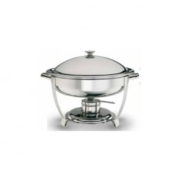 Standard Round Chafing Dish with Stainless Steel Lid