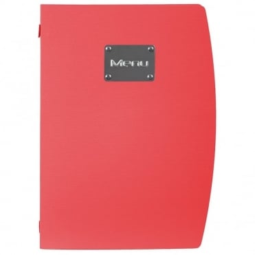Rio Red Menu Holder A4