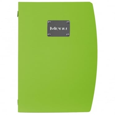 Rio Green Menu Holder A4