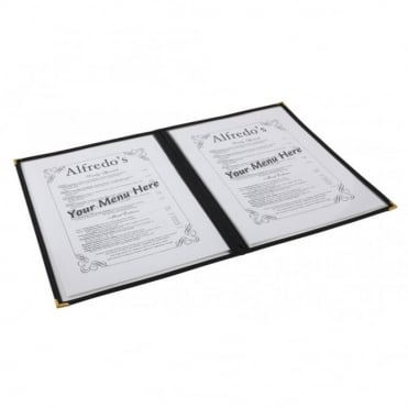 American Style Menu Holder 4 Page A4