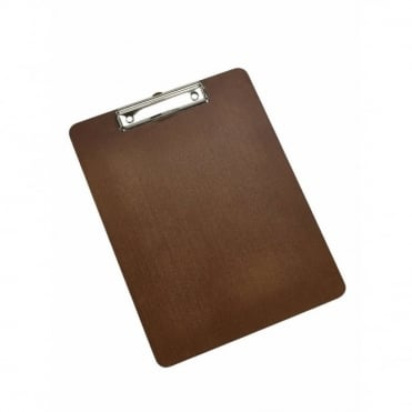Wood Menu Clipboard A4