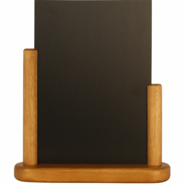 A5 Teak Wood Table Chalk Board - Medium
