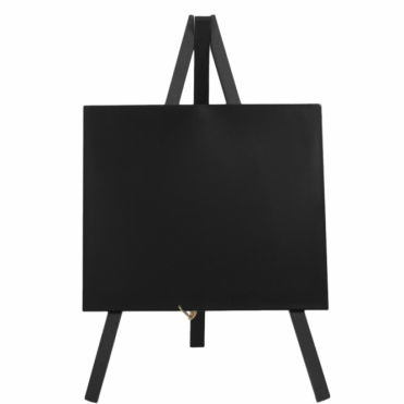 Mini Chalkboard Black Easel 24cm x 11.5cm | Pack of 3