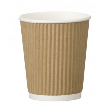 8oz Triple Wall Ripple Cup | Pack of 500