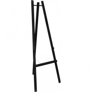 165cm High Black Easel for Chalk Boards